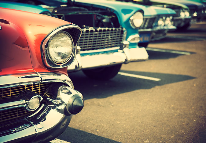 Storing your antique or classic car in winter